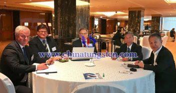 劉良先秘書長一行赴莫斯科參加國際鎢協第30屆年會圖片