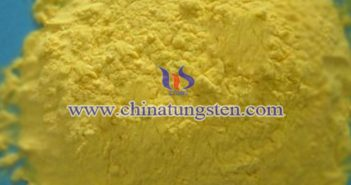 黃鎢酸圖片