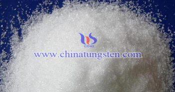 鎢酸鈉結晶圖片