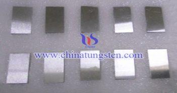 92.5W-5.4Ni-2.1Fe 鎢合金塊圖片