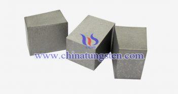 93W-4Ni-3Cu 鎢合金塊圖片