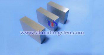 95W-3.6Ni-1.4Fe 鎢合金塊圖片
