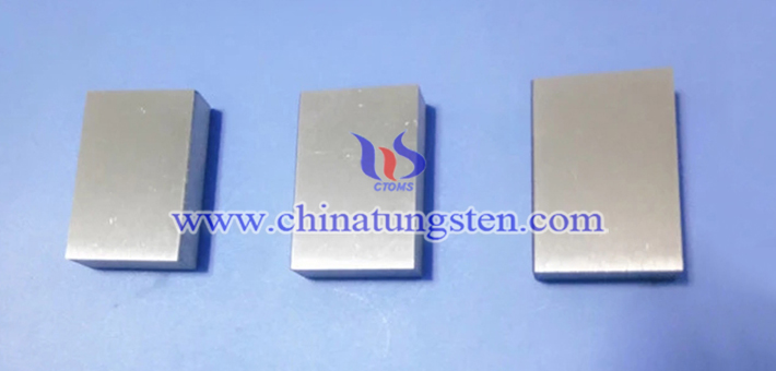 95W-4Ni-1Cu 鎢合金塊圖片