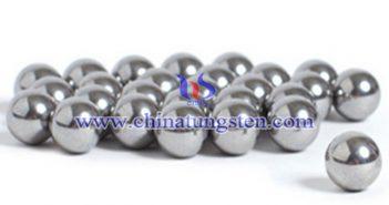 鎢合金衝壓球圖片