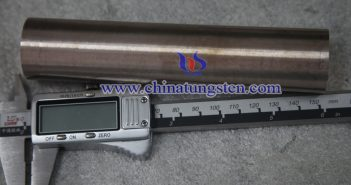 Ø14x200mm鎢銅合金棒圖片