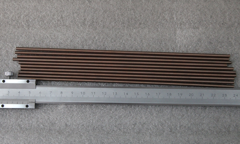 Ø3x200mm鎢銅合金棒圖片