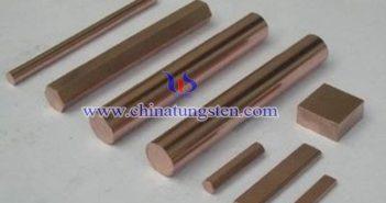 W50鎢銅合金棒圖片