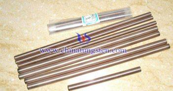 W60鎢銅合金棒圖片