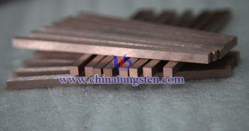鎢銅合金條圖片