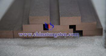 W80鎢銅合金條圖片