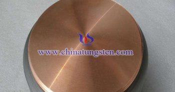鎢銅合金圓片圖片