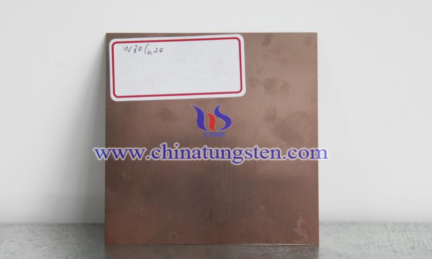 鎢銅合金薄板圖片