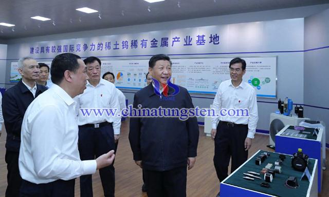 領導人赴江西考察調研,除了稀土,鎢也不可忽視