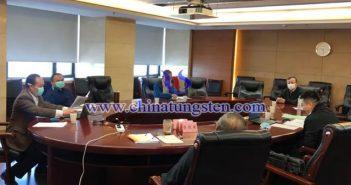 中國鎢業協會六屆二十次主席團(視頻)會議