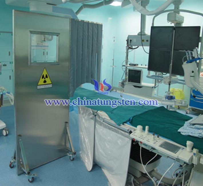X射線防護鎢合金屏風圖片