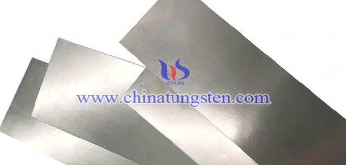 鎢合金防輻射薄板圖片