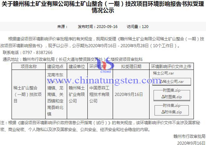 贛州稀土集團有望恢復稀土開採圖片