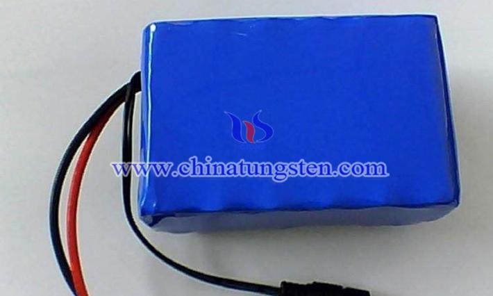 寬溫鋰電池用高純納米紫鎢圖片