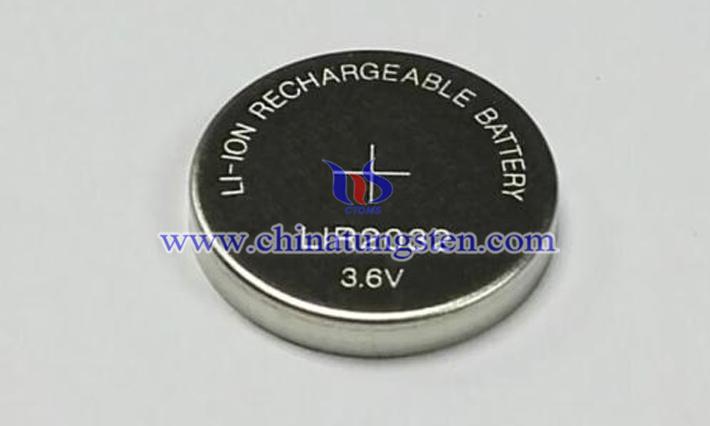 電子産品鋰電池正極摻二硫化鎢納米片圖片