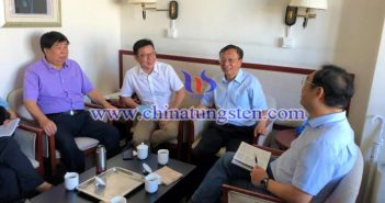 鎢協會長一行到中國特鋼企業協會走訪交流圖片