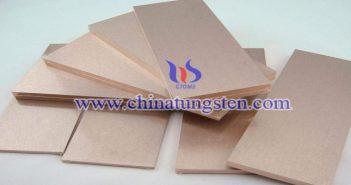 tungsten copper plate picture