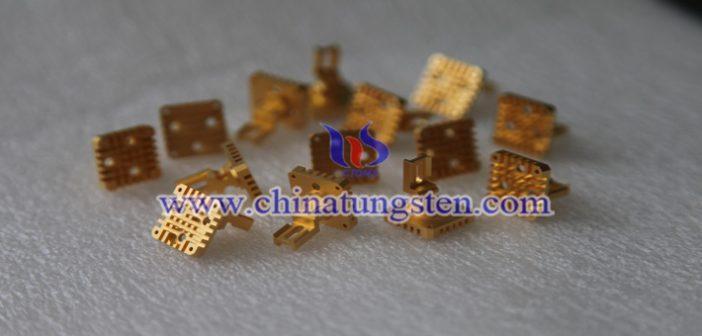 Tungsten Copper Heat Sink Picture