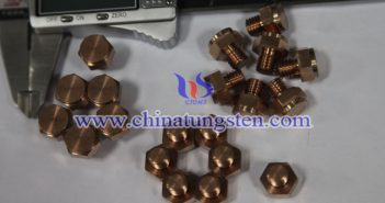 tungsten copper electrode image