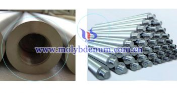 glass melting furnace used molybdenum electrode image