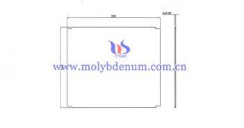 customized TZM plate image
