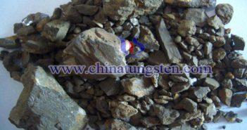 Wolframite slime image