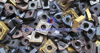 scrap tungsten carbide inserts picture
