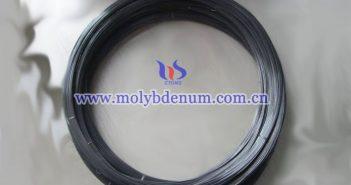 black molybdenum wire image