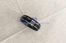 black tungsten ring image