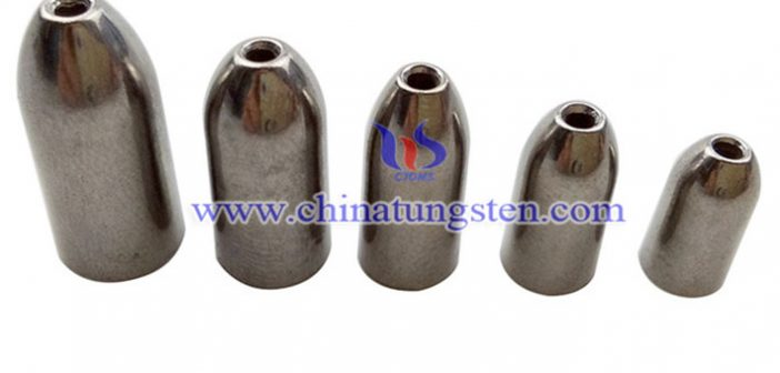 tungsten bullet fishing weight picture