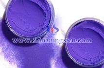 Mo doped violet tungsten oxide Chinatungsten picture