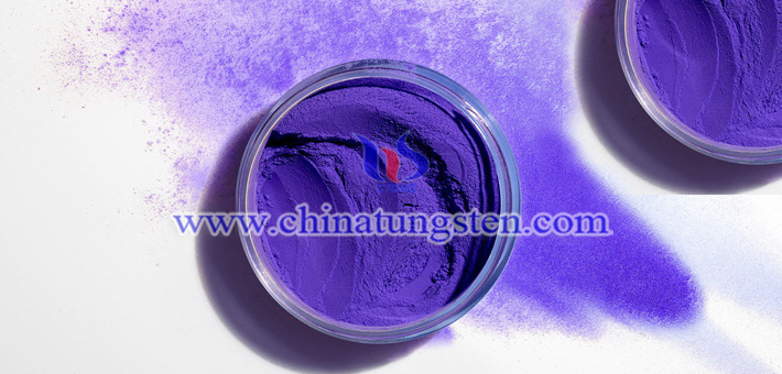 Mo doped violet tungsten oxide picture