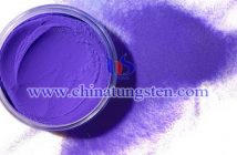 Ti doped violet tungsten oxide Chinatungsten picture