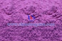 V-doped violet tungsten oxide Chinatungsten picture