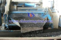Tungsten concentrate electric separation image