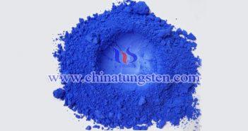 coarse blue tungsten oxide picture