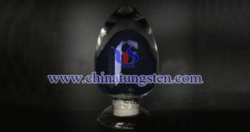 dark blue nano tungsten oxide Chinatungsten picture