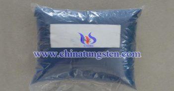 fine blue tungsten oxide picture