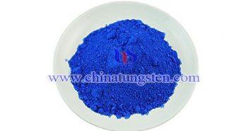 medium blue tungsten oxide picture