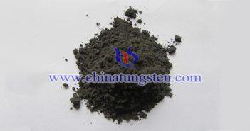 medium grain size tungsten powder picture