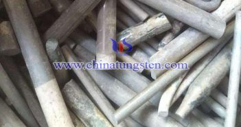 scrap tungsten rod image