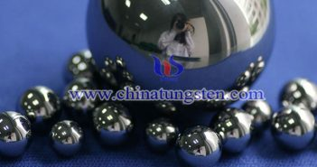 tungsten carbide G25 polished ball picture