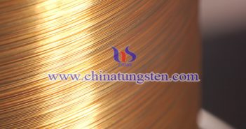 gold plated tungsten rhenium wire Chinatungsten picture