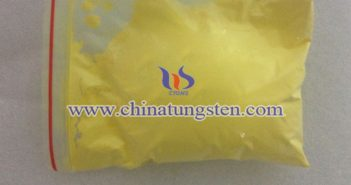 nano grain size tungstic acid Chinatungsten picture