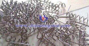 scrap tungsten wire image