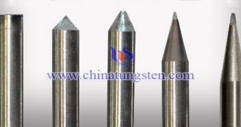 ternary composite tungsten electrode Chinatungsten picture
